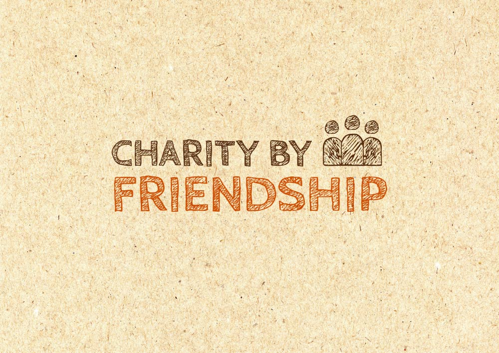 Charity by friendship logotyp