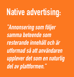 Native marketing